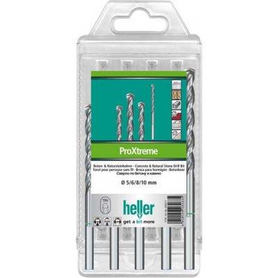 Sada vrtáky do betonu ProXtreme 4/5/6/8/10mm Heller