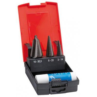 Sada vrtáků do plechu HSS 3-30,5mm FORMAT