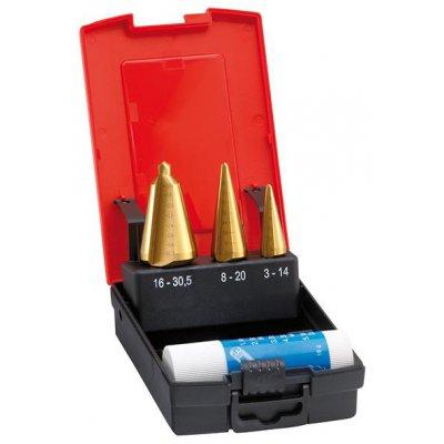 Sada vrtáků do plechu HSS TiN 3-30,5mm FORMAT