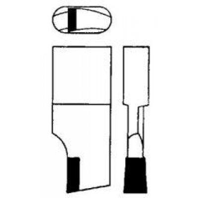 Nůž pro kruhové vyřezávače tvrdokov 00 a 00A7 GFS