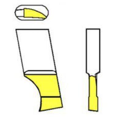 Nůž pro kruhové vyřezávače TiN 00A8 GFS