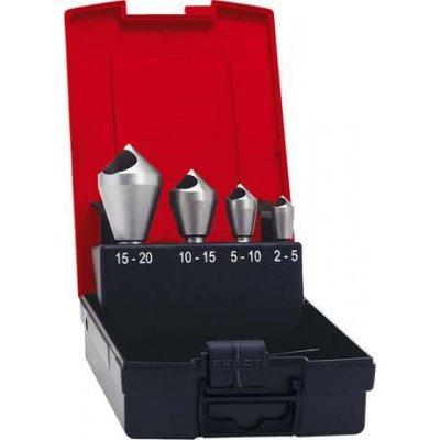 Sada odhrotovacích záhlubníků HSS příčný otvor 90° 2-20mm FORMAT