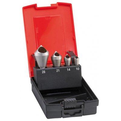 Sada odhrotovacích záhlubníků HSS-Co příčný otvor 90° 2-20mm FORMAT