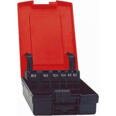 Plastový box, prázdný pro rozměri 6,3-25mm FORMAT