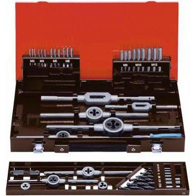 Sada ručních závitníků DIN352 HSS MF3-12 FORMAT