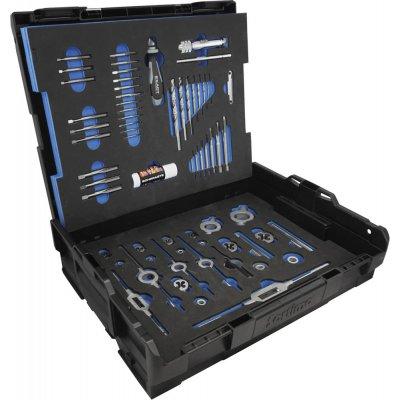 Sada nástrojů k řezání závitů HSS-Co5 61 ks. M3-M12 EXACT