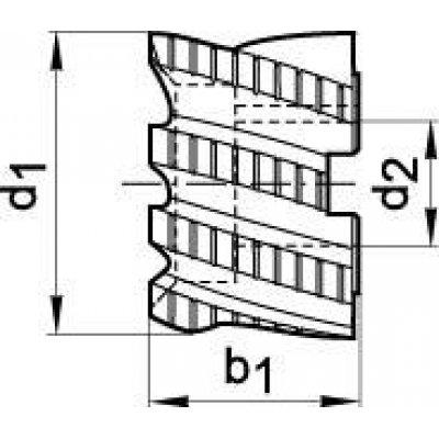 Válcová čelní fréza DIN1880 HSSCo8 typ HR 40x32mm FORMAT - pre215449.jpg