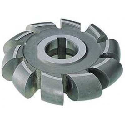Půlkruhová profilová fréza DIN855 HSS 80x14mm R 7,0 FORMAT