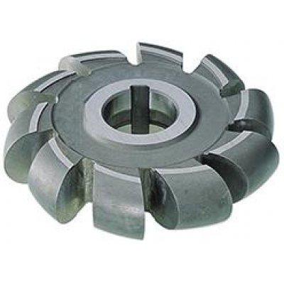 Půlkruhová profilová fréza DIN855 HSS 100x20mm R10,0 FORMAT