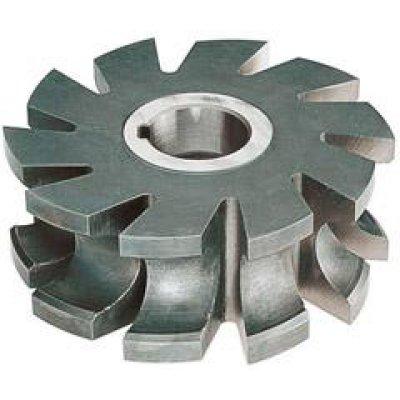Půlkruhová profilová fréza DIN855 HSS 50x6mm R 1,0 FORMAT