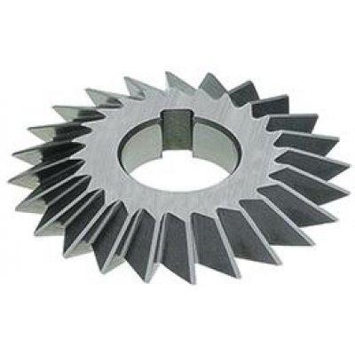 Tvarová fréza DIN847 HSS 45° 100x18mm FORMAT