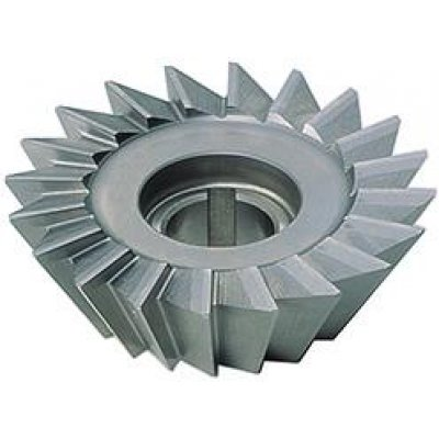 Úhlová fréza DIN842 HSS tvar A 45° 80x22mm FORMAT