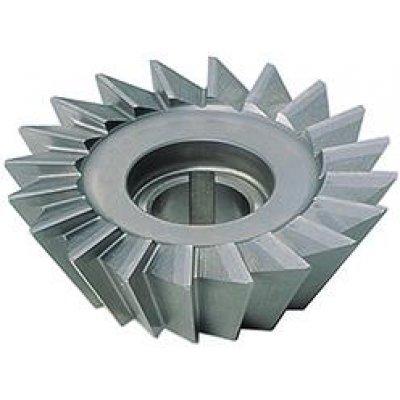 Úhlová fréza DIN842 HSS tvar A 60° 80x25mm FORMAT