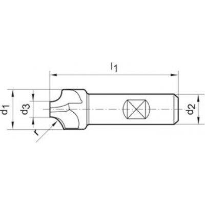 Vydutá fréza DIN6518 HSSCo8 TiCN tvar B 1,5mm FORMAT - pre215694.jpg