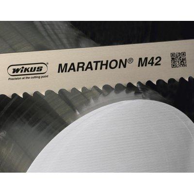 Pilový pás MARATHON M42 Z4-6 2450x27x0,9mm WIKUS