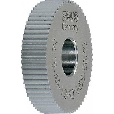 Rádlovací kolečko DIN403 PM AA 25x6x8mm 1,2-rozteč ZEUS