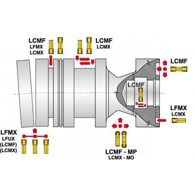 Zapichovací destička LCMF 1603MO-MP U 9035