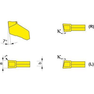 Upichovací destička GFN 3.1 PK30 FORMAT