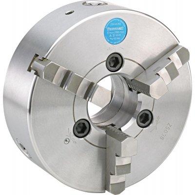 Tříčelisťové soustružnické sklíčidlo DIN55027 ocel 200mm KK 6 FORMAT
