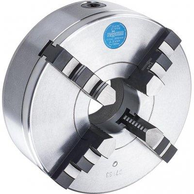 Čtyřčelisťové soustružnické sklíčidlo DIN55027 ocel 160mm KK4 RÖHM