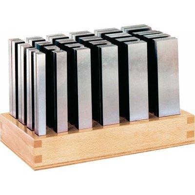 Sada paralelní podložky P délka 125mm + dřevěný stojan FORMAT