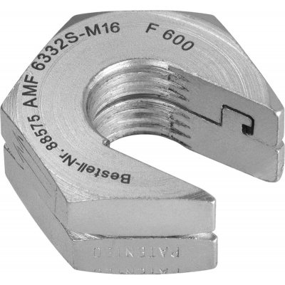 Rychloupínací matice bez nákružku 6332S-M20 AMF