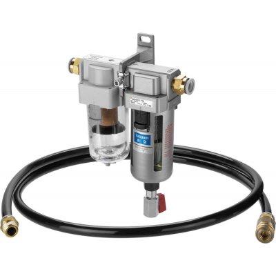 Odlučovač kapalin s vakuovým filtrem AMF