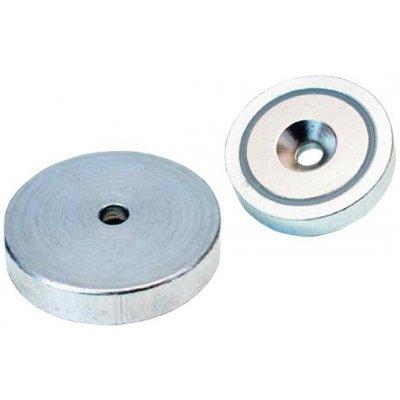 Magnetický plochý chapač NdFeB s otvorem 16x4,5mm FORMAT
