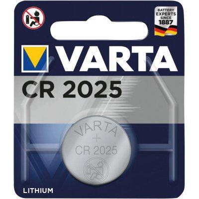Knoflíkový článek Electronics CR 2025 VARTA