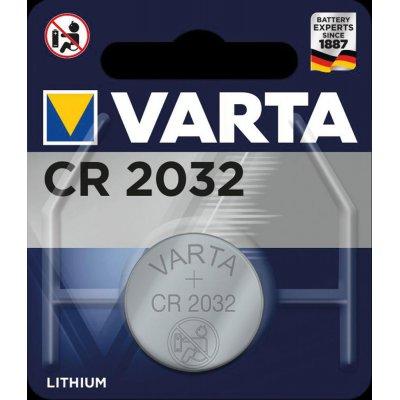 Knoflíkový článek Electronics CR 2032 VARTA