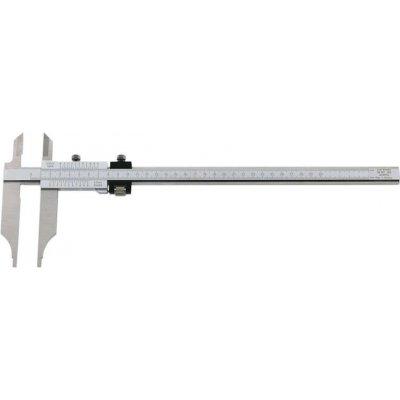 Dílenská posuvná měřítka odečítání bez paralaxy + měřicí hroty přesné nastavení 200x80mm FORMAT