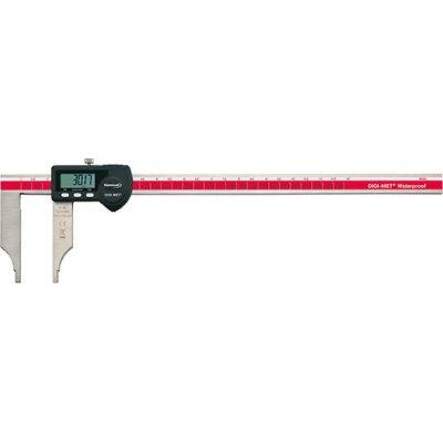 Dílenské posuvné měřítko IP65 digitální bez měřicích hrotů 300mm FORMAT
