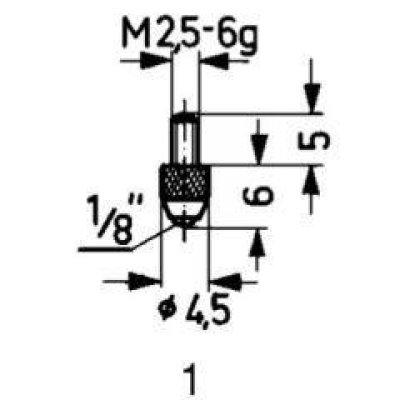 Měřicí snímač ocel typ 1/standard KÄFER