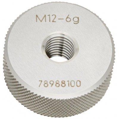 Závitový kalibr kroužek (bezvadný díl) DIN2285 M12 BOSS JBO