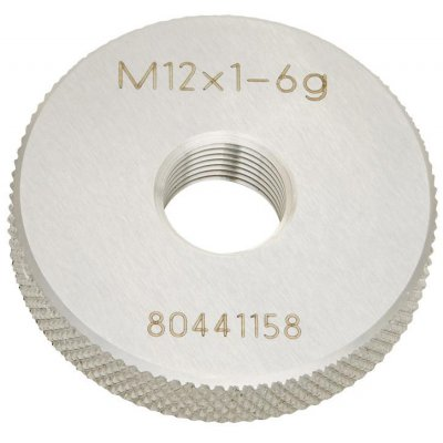 Závitový kalibr kroužek (bezvadný díl) DIN2285 M12x1,0 BOSS JBO