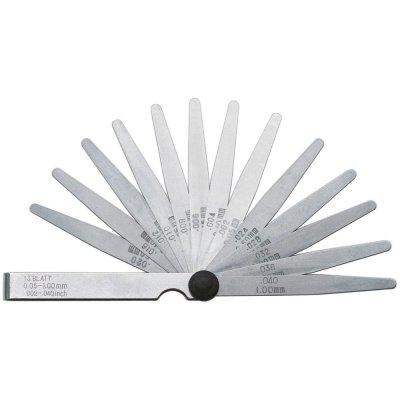 Přesná spárová měrka 20 listů 0,05-1mm ocel FORMAT