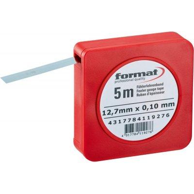 Spárová měrka v pásu 0,02mm FORMAT