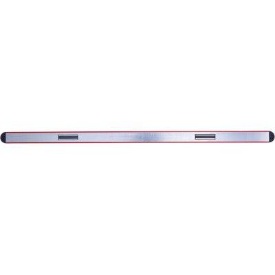 Vodováha lehký kov magnet červený práškový povlak 80cm FORMAT