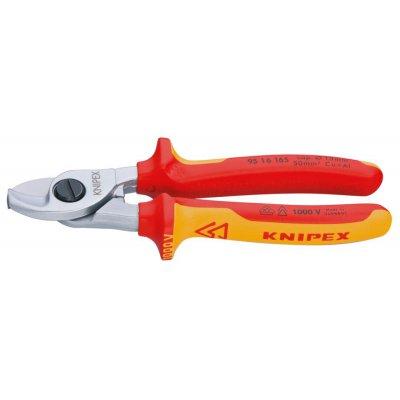 Kabelové nůžky VDE vícesložkové návleky 165mm KNIPEX