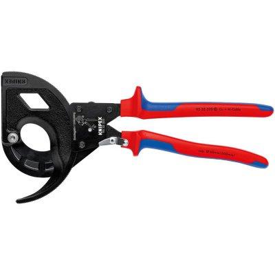 Řezač kabelů brunování ráčna 2-složkové návleky 320mm KNIPEX