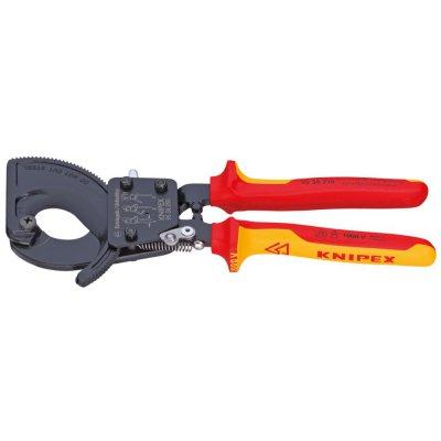 Řezač kabelů VDE vícesložkové návleky 280mm KNIPEX