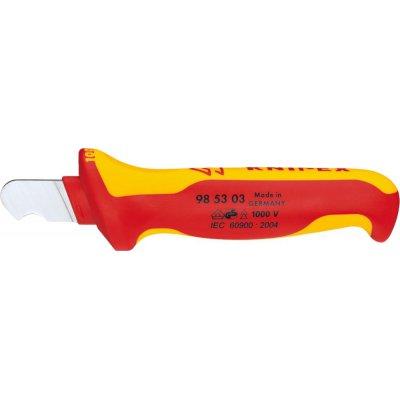 VDE nůž na kabely ohnutý mm KNIPEX