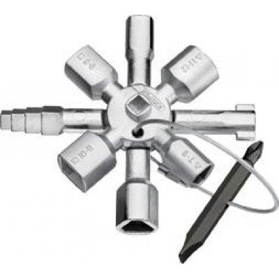 Klíč k rozvaděčům TwinKey TwinKey KNIPEX
