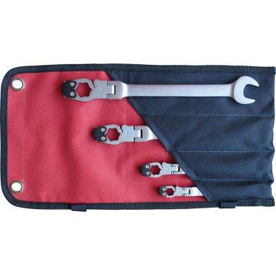 Ráčnový klíč na Sada ráčnové klíče 10-19mm 4 ks. FORMAT