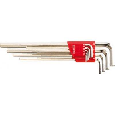 Držák na Inbusový klíč dlouhý 1,5-10x mm 9 ks FORMAT