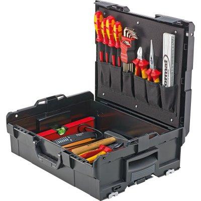 Sada nářadí v kufříku L-Boxx pro elektrikáře 39 ks FORMAT