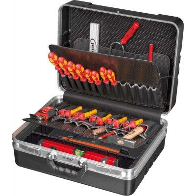 Sada nářadí pro instalatéry v kufříku 51 ks FORMAT