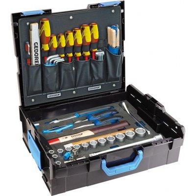 Sada nářadí v kufříku L-Boxx 136 pro řemeslníky 58 ks. GEDORE