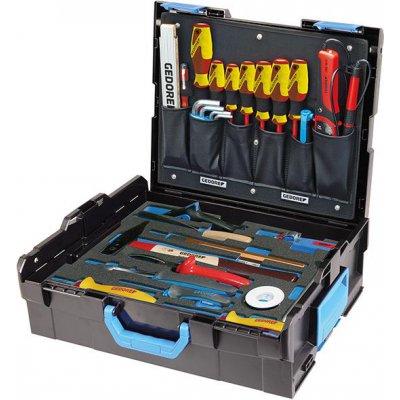 Sada nářadí v kufříku L-Boxx 136 pro elektrikáře 36 ks. GEDORE