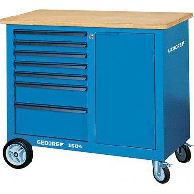 Pojízdný pracovní stůl, 7 zásuvek 1100x550x985mm GEDORE